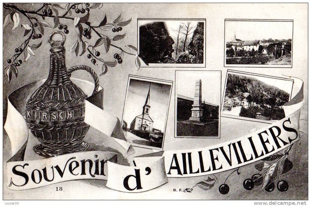 SOUVENIRS D´ AILLEVILLERS 70 - France