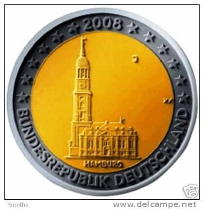 @Y@  Duitsland  2 Euro Commemorative  2008  D - Deutschland