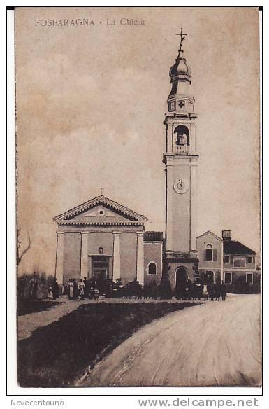 Veneto - Padova-Bovolenta -Fossaragna - Chiesa - Padova (Padua)