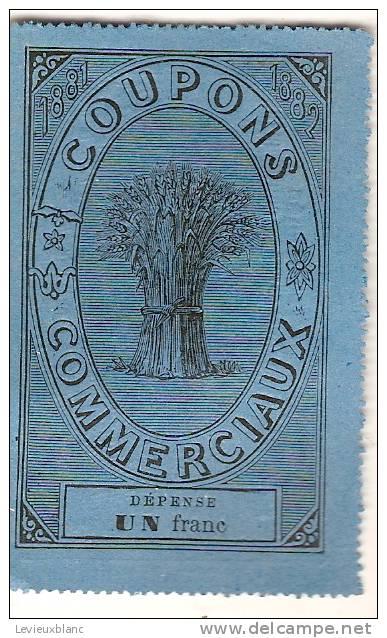 L´Epargne Populaire/Société Anonyme Des Coupons Commerciaux/Paris/1880     VP496 - Banque & Assurance