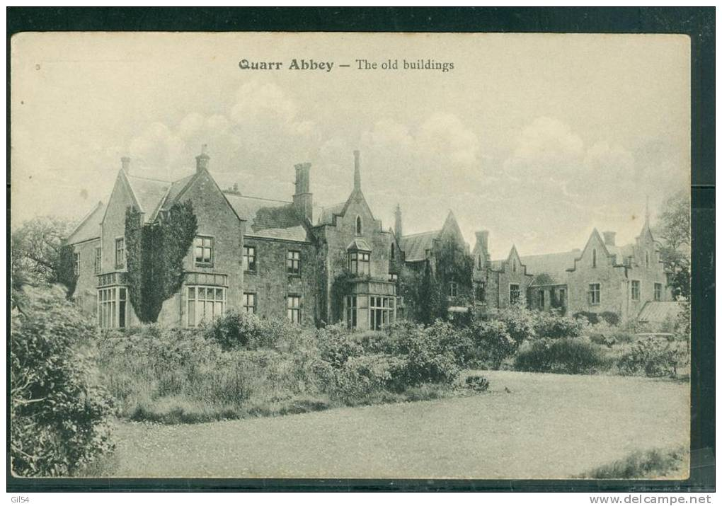 Quarr Abbey - The Old Buildings    - Uh144 - Angleterre