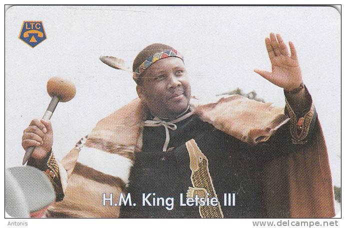 LESOTHO - H.M.King Letsie III, Used - Lesotho