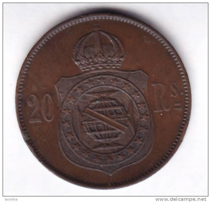 @Y@  Brazilie  20 Reis  1869                 ( 1981 ) - Brésil