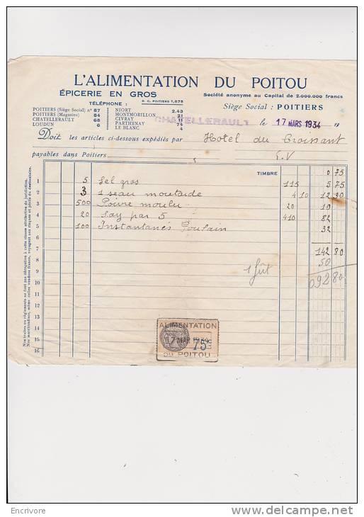 ALIMENTATION DU POITOU Epicerie En Gros Poitiers Chatellerault Loudun - France