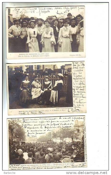 75.- MARCHE DES MIDINETTES  ( 25 Octobre 1903 ) - France