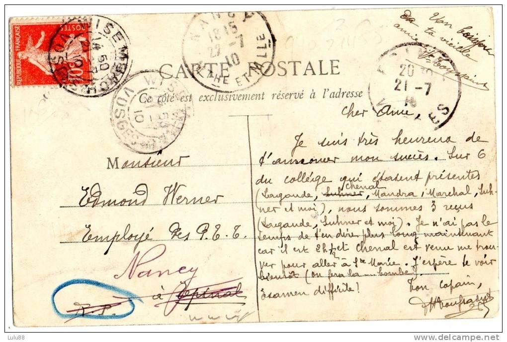 88 BAN DE LAVELINE  BERTRIMOUTIER  Le Giron  Route D'alsace                         402-403 - France
