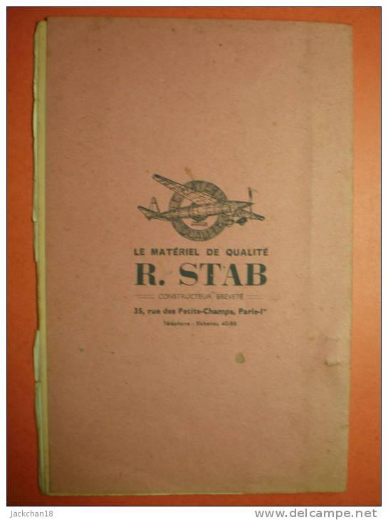 -PIECES DETACHEES POUR BATEAUX- Petit Fascicule De 16 Pages ,pieces Pour Bateaux +4 Pages Pour Avions - Bâteaux
