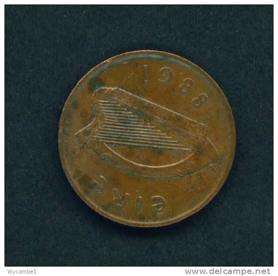 IRELAND  -  1988  2 Pence  Circulated As Scan - Irlande