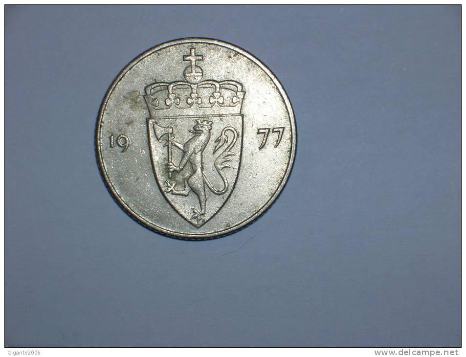 Noruega 50 Ore 1977 (4555) - Noruega