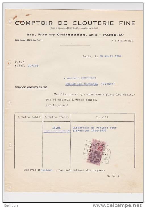 Comptoir De Clouterie Fine Paris - France