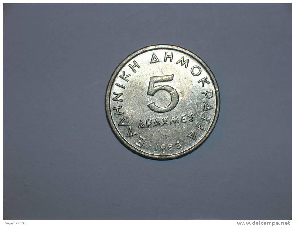 Grecia 5 Dracmas 1988 (4625) - Grecia