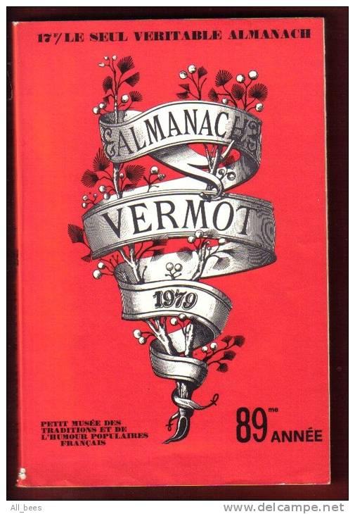 ALMANACH VERMOT 1979: Pdt Valérie Giscard D´ESTAING : Photos Membres Assemblée Nationale, Sénat, - Humour