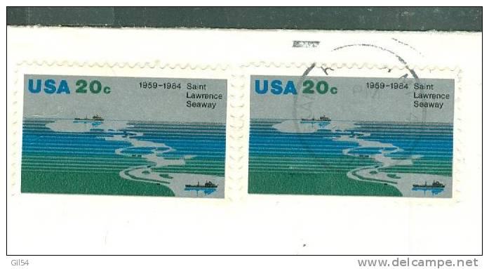 Lettre De Grand Rapids  Affranchie En 1984 Pour La Suisse - Bb12521 - Etats-Unis