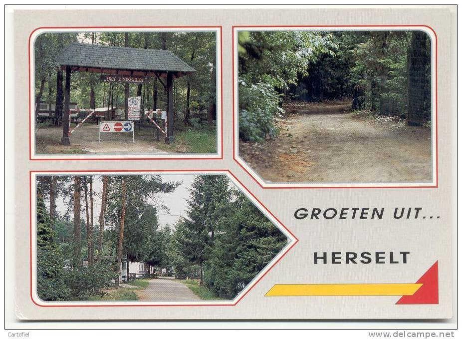 HERSELT-GROETEN UIT HERSELT-MEERZICHT-CAMPING DRY EYCKEN-CARAVAN - Herselt