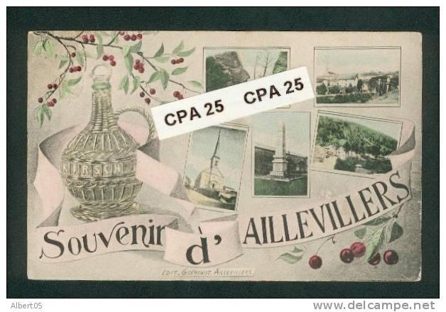 70 - Souvenir D'Aillevillers - Multivues - Non Classés