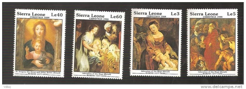 - 2932 A -  Nrs 934/37 - Sierra Leone (1961-...)