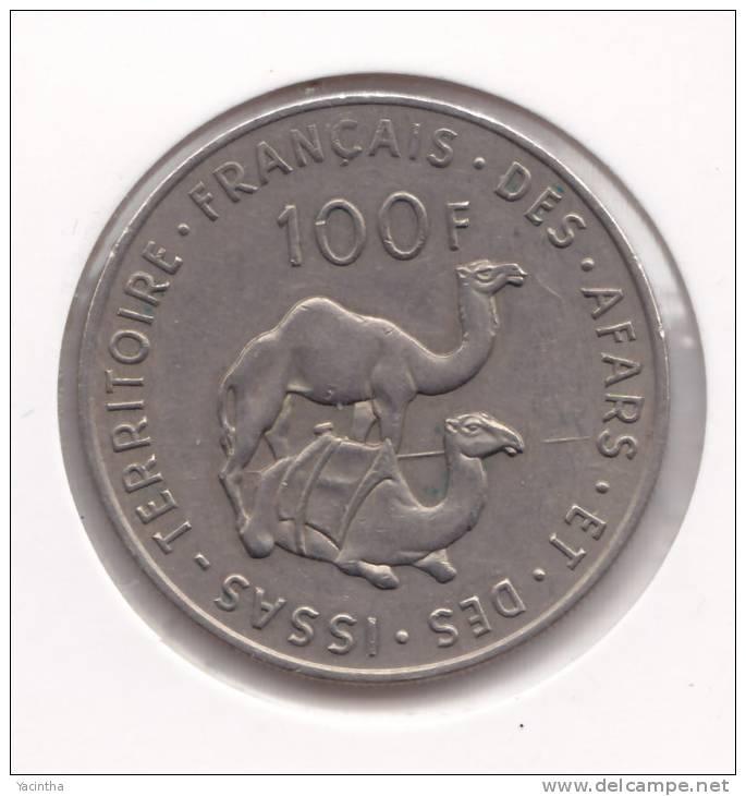 @Y@   French Afars & Issas  100 Franc 1975   RARE   (  Item 2008 ) - Monnaies
