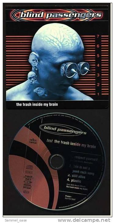 """Musik CD  Blind Passengers Promo-CD , Respect Yorselfe Vom Album """"Destroyka""""  -  Von 1997 - Sonstige - Englische Musik"""