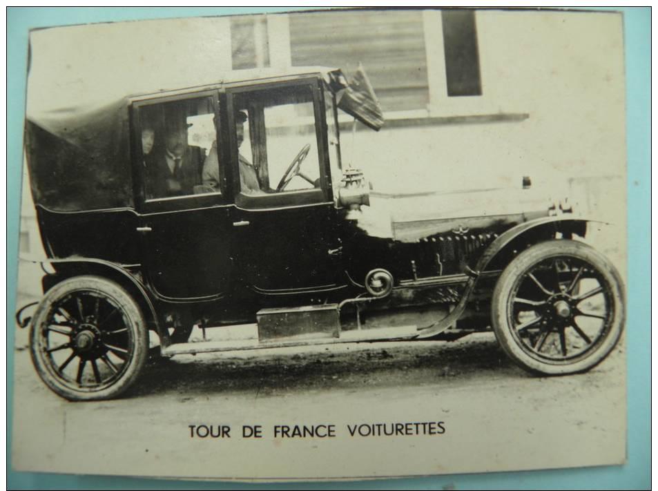 DP/223- 9x7cm-TOUR De FRANCE VOITURETTE 1912- Joseph Collomb Sur LICORNE Corre- 12 HP 4 Cyl(RECTO/VERSO) - Automobiles
