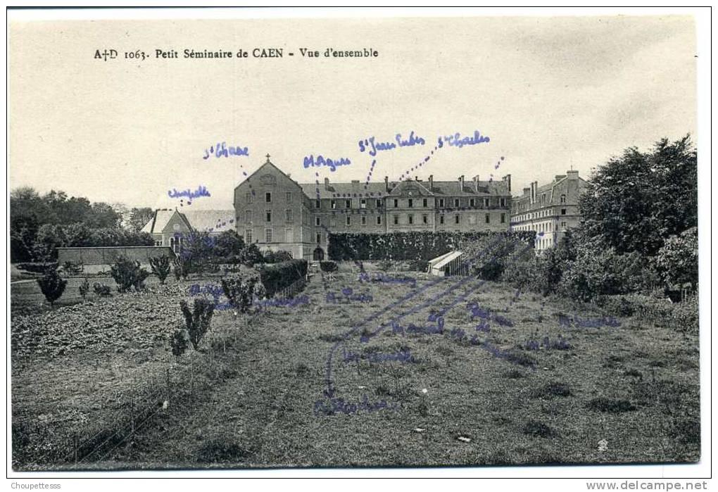 14  - Caen -petit Séminaire  De Caen - Vue D´ensemble  N° 1063 - Caen