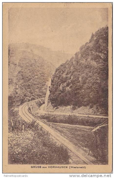 Gruss Aus Horhausen, Westerwald, Rhineland-Palatinate, Germany, PU-1919 - Allemagne