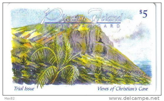 PITCAIRN ISLANDS / PIT 01 - First Card Issued - Pitcairn Islands