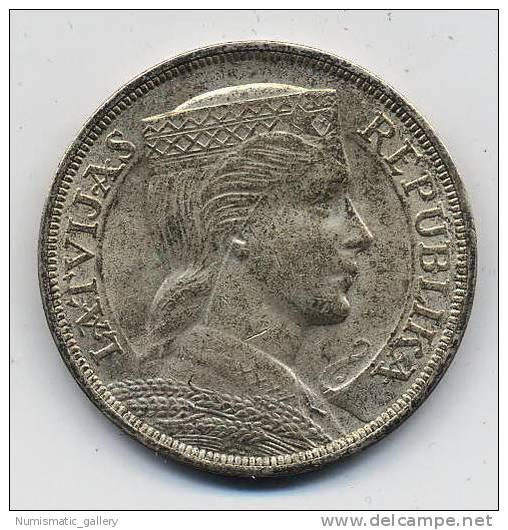 LETONIA 5 LATI 1931 - Letonia