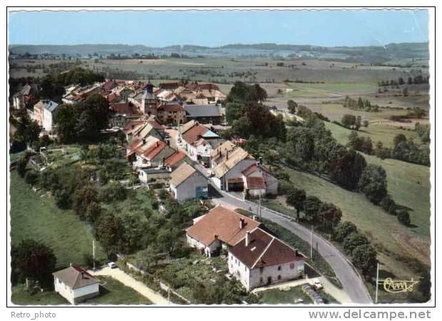 Nozeroy, Vue Générale Aérienne - Autres Communes