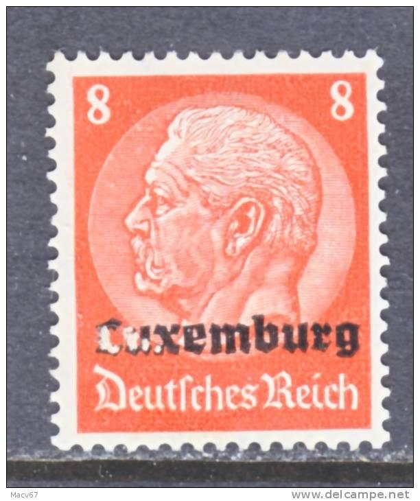 German Occupation Luxembourg  N 5  * - Ocupación 1914 – 18
