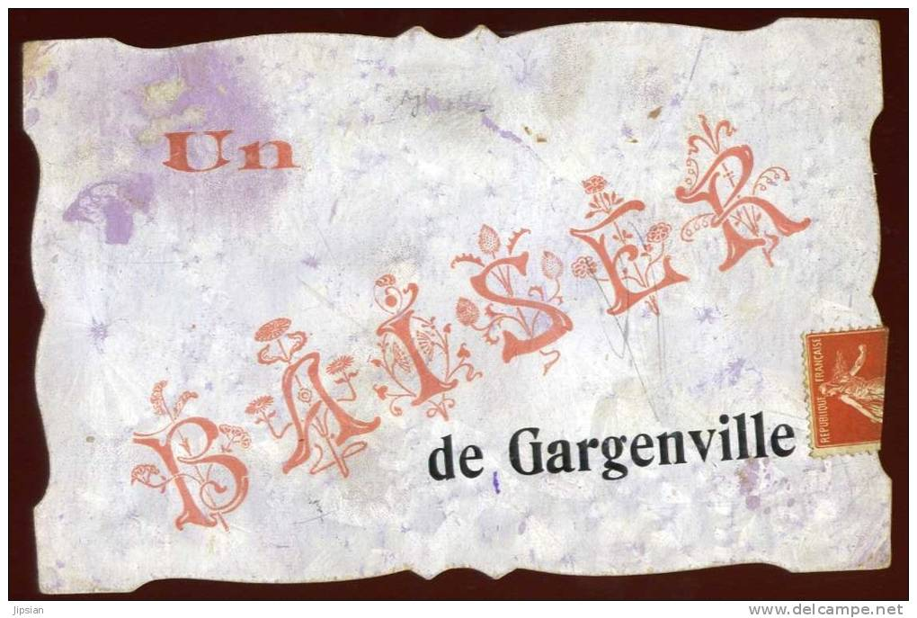 Cpa Du 78  Un Baiser De Gargenville      SAB13 - Gargenville
