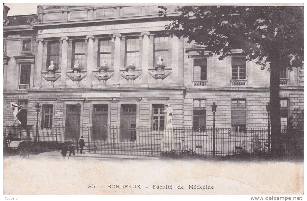 CPA 33 BORDEAUX, Faculté De Médecine. (animée...) - Bordeaux