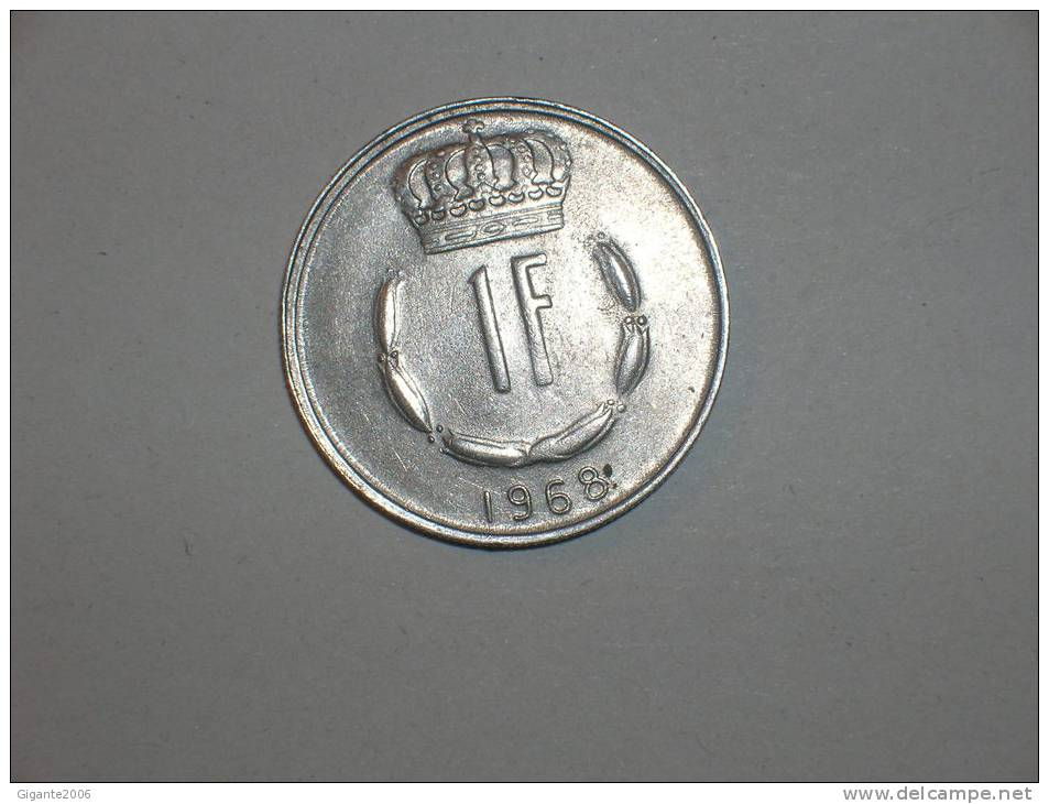Luxemburgo 1 Franco 1968 (4713) - Luxemburgo