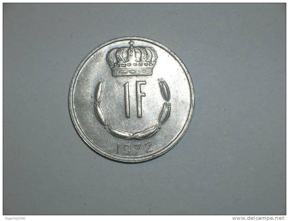 Luxemburgo 1 Franco 1972 (4715) - Luxemburgo