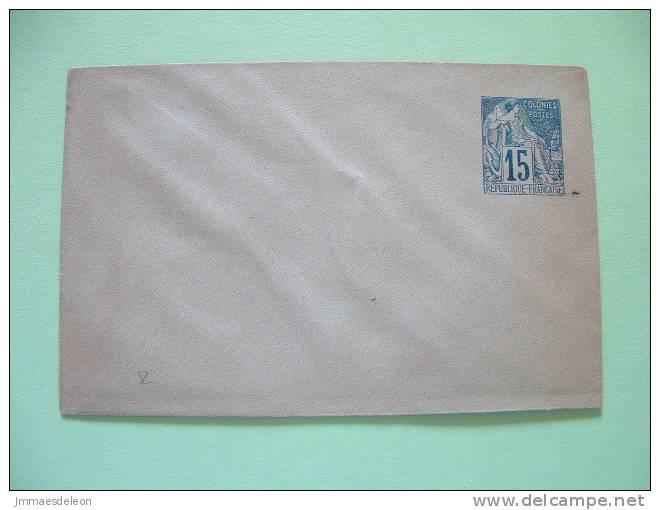 French Colonies 1877 Stationery Prepaid Enveloppe 15c - Alphee Dubois