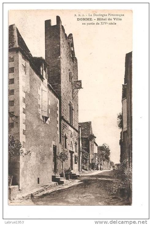 Domme--Hôtel De Ville   (Réf.1732) - Frankreich