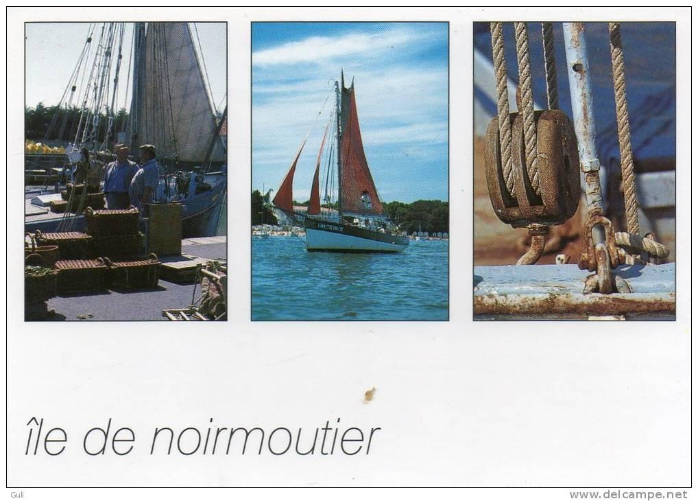 [85] Vendée > Ile De Noirmoutier - Multi Vues Vieux Gréements ( Voile Voilier Voiliers) *PRIX FIXE - Ile De Noirmoutier
