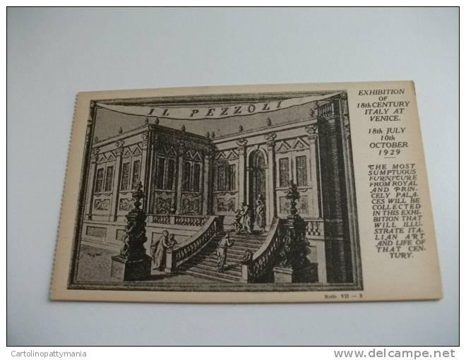 Esposizione Di Venezia 1929   Exposition Du XVIII Siecle Italien à Venise Il Pezzoli - Esposizioni
