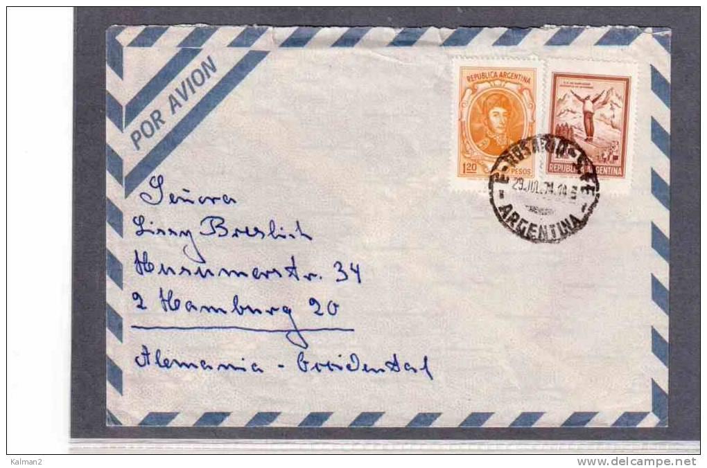 TEM8329-   ARGENTINA  STORIA POSTALE - Storia Postale