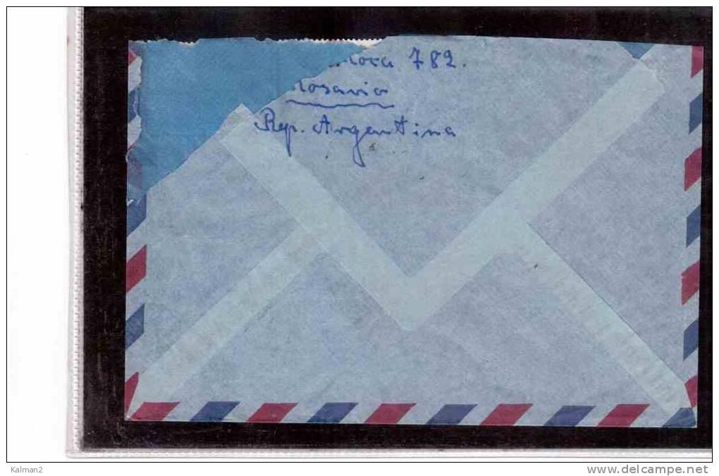 8330-   ARGENTINA  STORIA POSTALE - Argentina