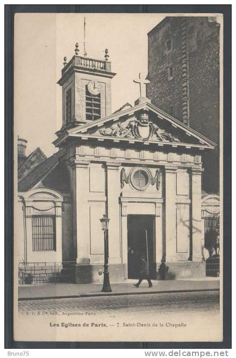 75 - Les Eglises De PARIS - 7 - Saint-Denis De La Chapelle - Eglises