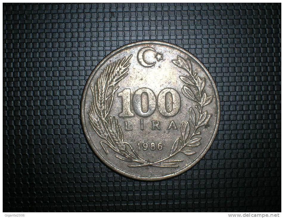 Turquia 100 Liras 1986 (4792) - Turquia