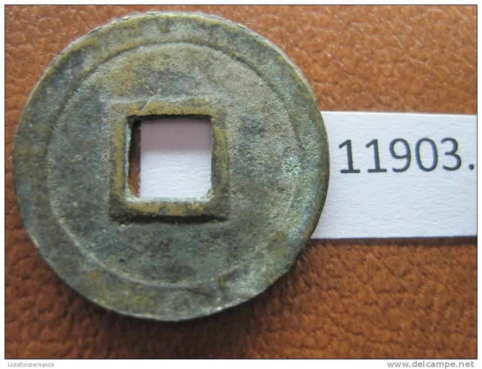 ANNAM , VIET-NAM ,  1 Cast Copper 22,7 - 24 Mm  1820 - 1841 Minh Mang Emperor Km 81 -1 Vietnam INDOCHINA - Vietnam