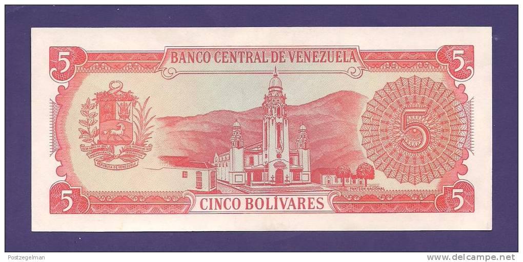 VENEZUELA 1989 ,  Banknote , USED VF, 5 Bolivares - Venezuela