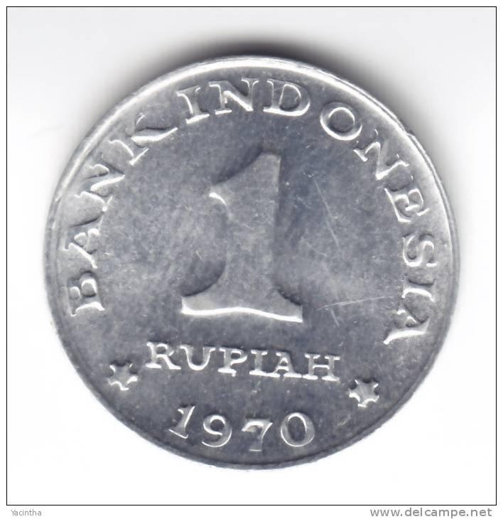 @Y@  INDONESIE  1 RUPIA 1970   UNC  ( C122 ) - Indonésie