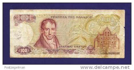 GREECE 1978, Banknote,  USED VF, 100 Drachme Km200 - Greece