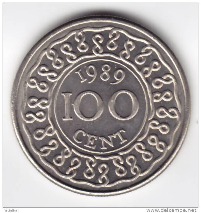 @Y@  Suriname 100  Ct  1989    UNC  (C139) - Suriname 1975 - ...