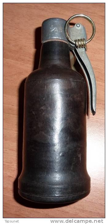 Tres Rare Grenade Lacrymogène Modèle 1939 Prototype Français - Armes Neutralisées