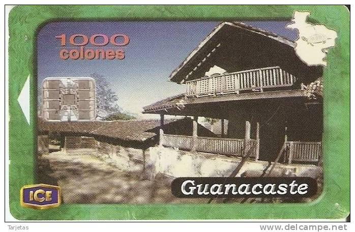 TARJETA DE COSTA RICA Nº2  PROVINCIAS DE COSTA RICA GUANACASTE - Costa Rica