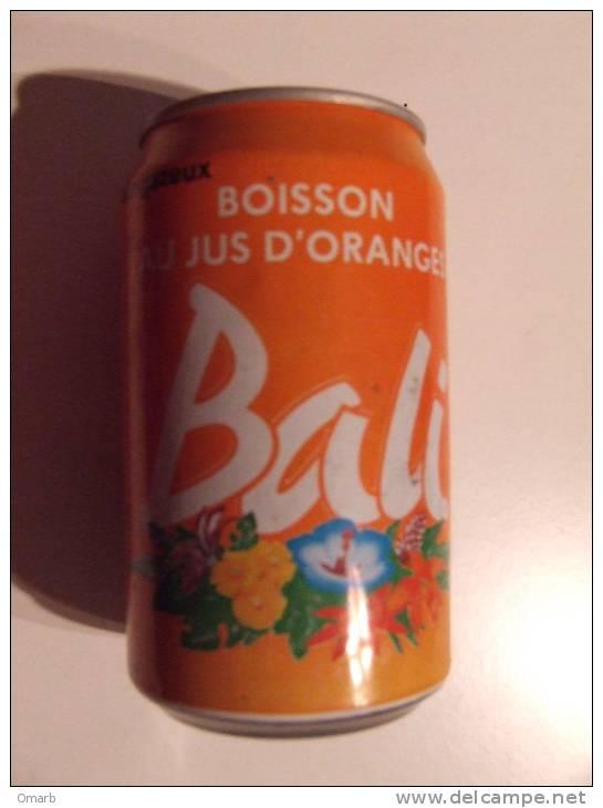 Alt194 Lattina Bibita Boite Boisson Can Drink Lata Bebida Bali Succo Arancia, Jus Orange - Cannettes