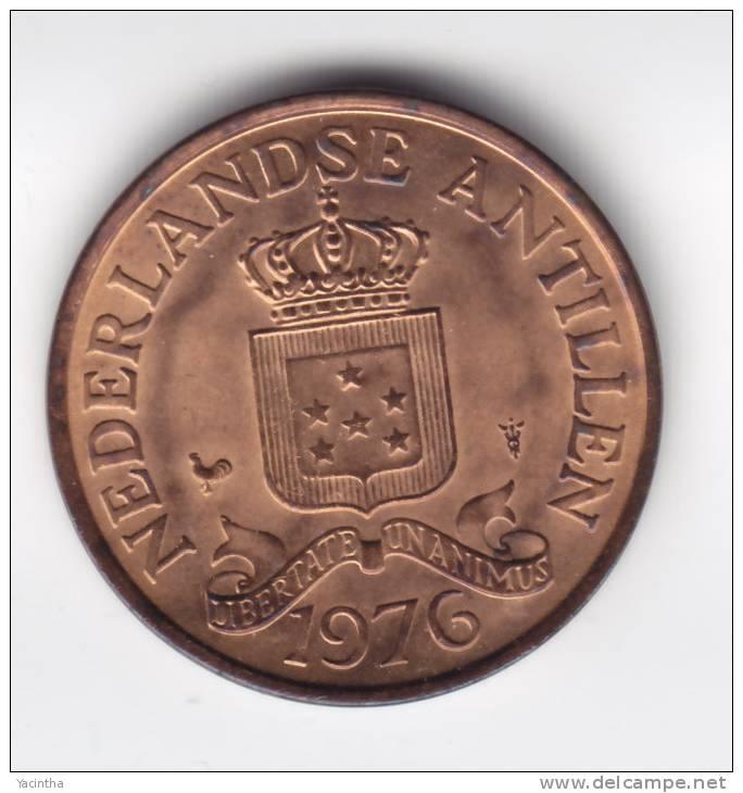 @Y@   Nederlandse Antillen    2 1/2 Cent 1976   UNC   (C147) - Nederlandse Antillen